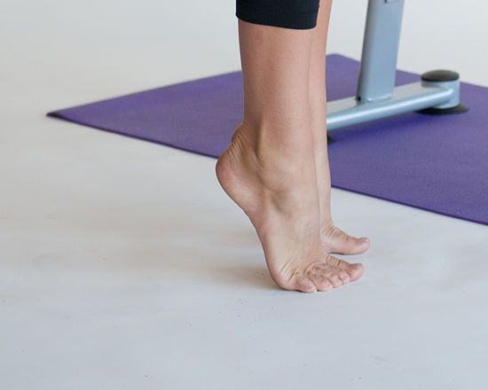 8 Ways to Strengthen Your Ankles. Several of these can easily be done at your desk.