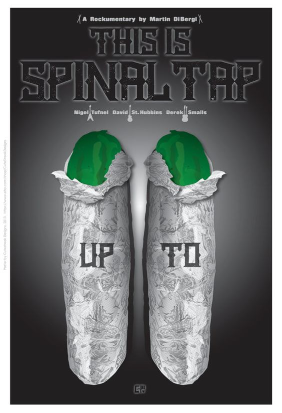 Diese inspirierten FilmPoster Is Spinal Tap von CuteStreakDesigns