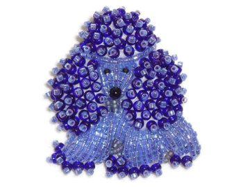Keepsake Beaded Dog Jewelry Pet Portrait Beading por thelonebeader