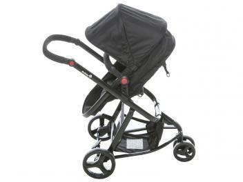 Carrinho de Bebê e Berço Passeio Safety 1st Travel - System Mobi Reclinável p/ Crianças até 13kg