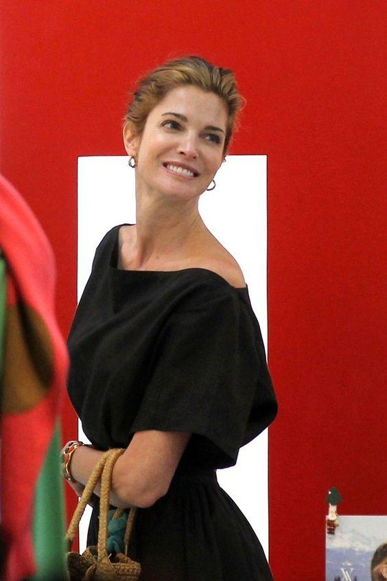 Stephanie Seymour in St. Barths - 2012