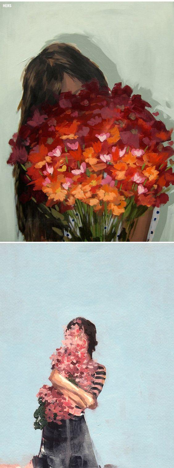 Clare Elasser - llenarse de flores <3