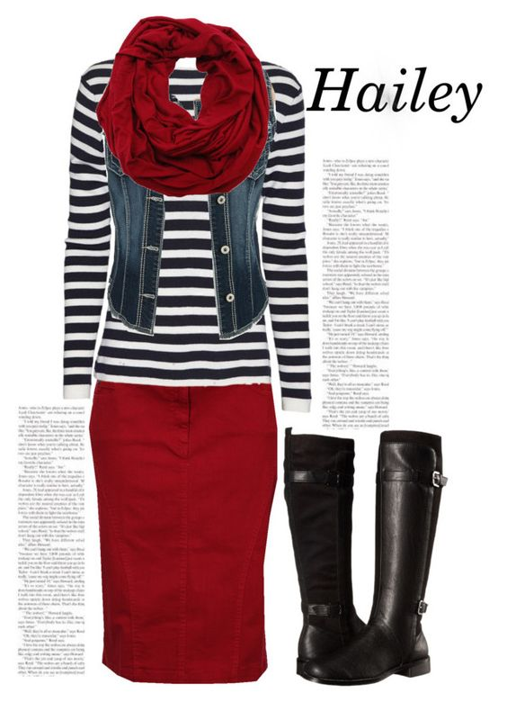 """Hailey"" by the-daily-crafts ❤ liked on Polyvore featuring rag & bone, maurices, Aerosoles, cowgirl, Modest, apostolic and pentecostal"