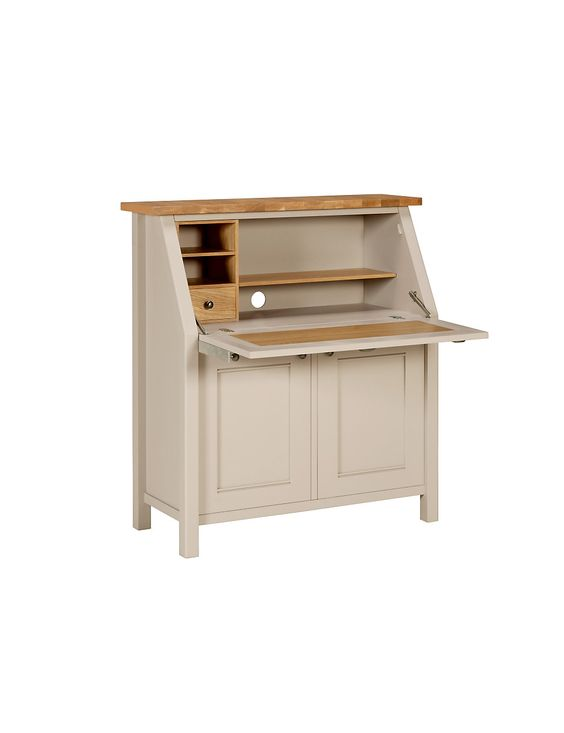 padstow bureau white stain hemnes and varnishes. Black Bedroom Furniture Sets. Home Design Ideas