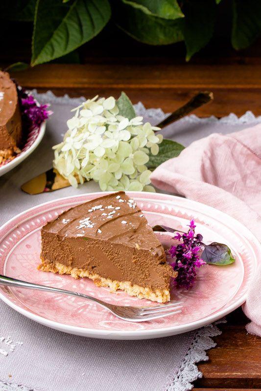 Lowcarb Schokoladentorte Mit Avocado Sasibella Rezept Kuchen Und Torten Rezepte Kuchen Und Torten Schokoladentorte