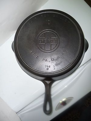 Griswold Cast Iron Skillet Pan And Fire Ring On Pinterest