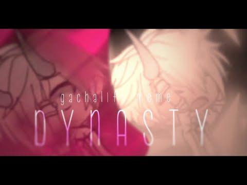 Dynasty Gacha Life Meme Yamir San Youtube Youtube Life Memes