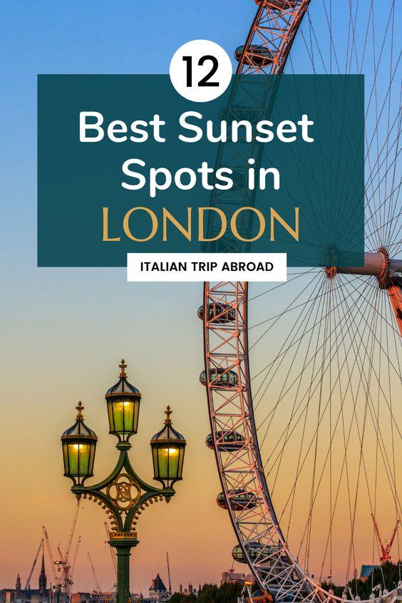 12 Best Sunset Spots in London