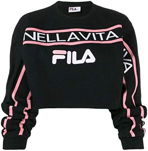 ROMWE Womens 3//4 Sequin Flare Sleeve Crew Neck Fashion Pullovers Sweatshirt