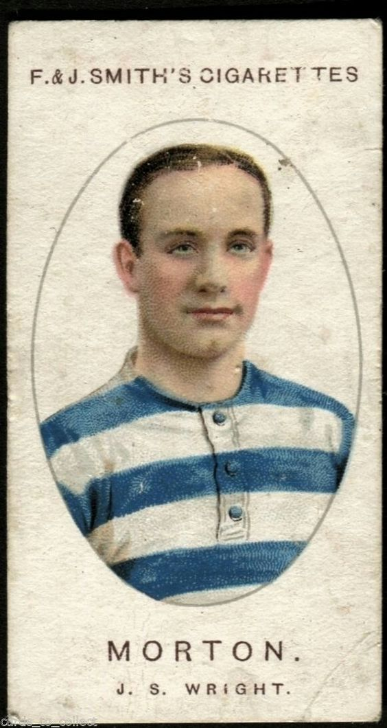 Greenock Morton card from 1917.