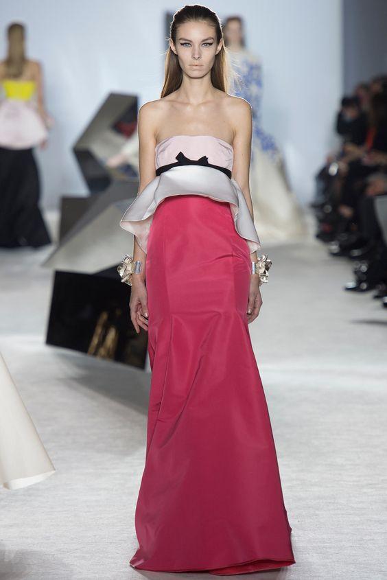 Giambattista Valli Spring 2014 Couture Fashion Show - Jessica Le Bleis (NEXT)