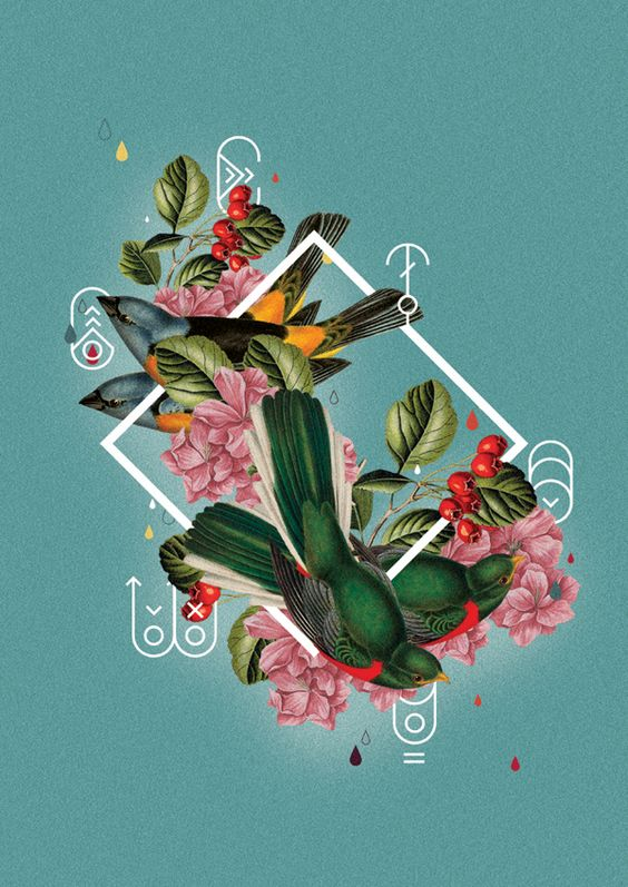 Collage Poster by Willian Santiago, via Behance | graphic design ...