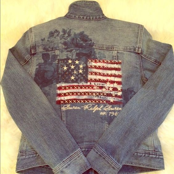 Ralph Lauren Denim & Supply denim jacket NWOT. Never worn. Ralph Lauren Classic Denim American Flag Ralph Lauren Jackets & Coats Jean Jackets