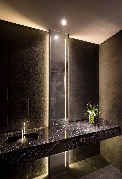 Pin By Yasmeen Amer On Bathrooms In 2020 Bathroom Accessories Luxury Modern Bathroom Unique Bathroom Tiles