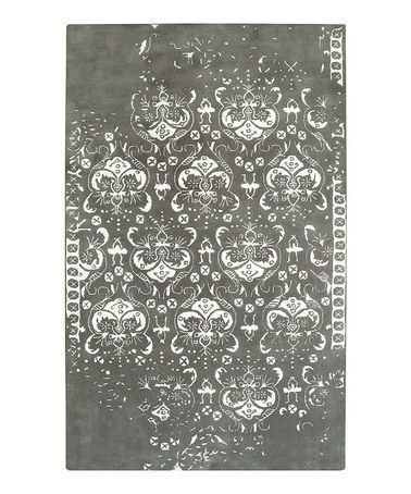 Take a look at this Silver Sand Wool-Blend Gottschalk Modern Rug by Amer Rugs on #zulily today!