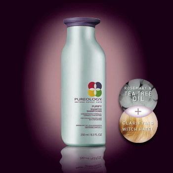 Purify Shampoo - For Colour-Treated Hair with Impurities