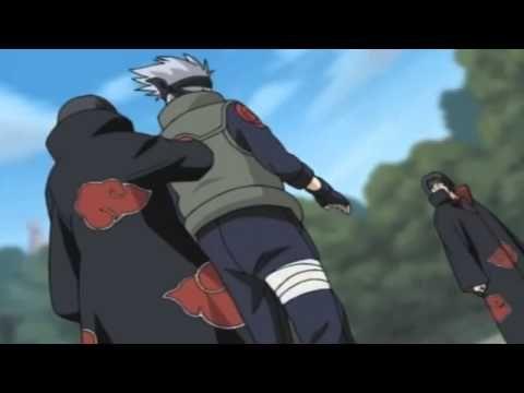 Itachi and Kisame vs Kurenai and Asuma   Full Fight English Sub)