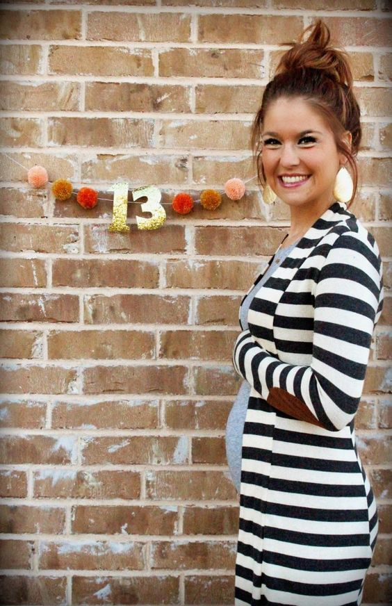 7 Cute Ways To Track Your Growing Baby Bump