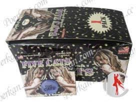 Wholesale Five Cats Male Sexual Stimulant Sex Capsule From China