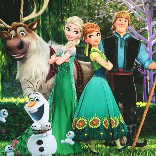 集合アナと雪の女王