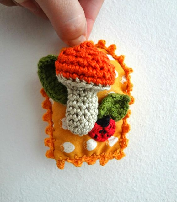 whimsical brooches / wall art