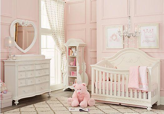 Picture Of Disney Princess White 4 Pc Nursery From Nursery Room