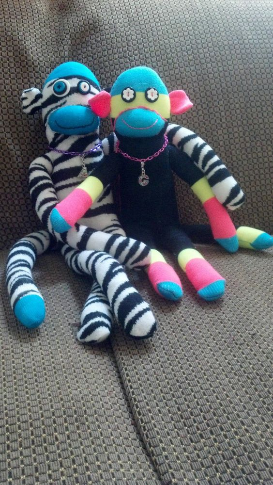 I don't think I will ever tire of making sock monkeys.: