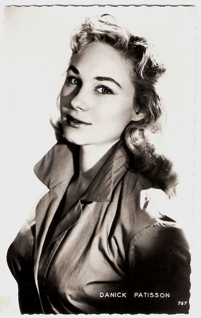 """Danik Patisson (1939) played vamps in French crime films of the 1950's, and also appeared in some international films."