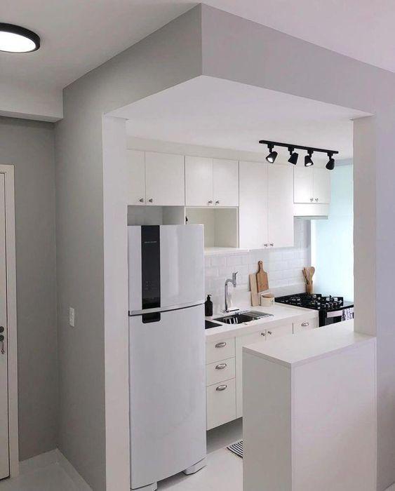 Cozinha Clean: entenda esse conceito em 50 inspirações #DecoraciondeInteriores