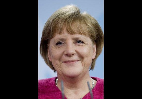 2012 power women #1 Angela Merkel - German Chancellor (CDU)