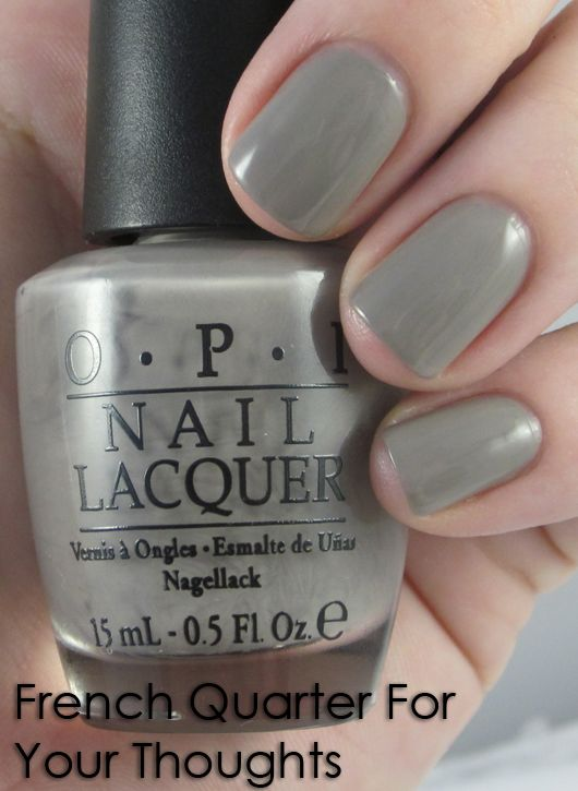 OPI French Quarter For Your Thoughts.