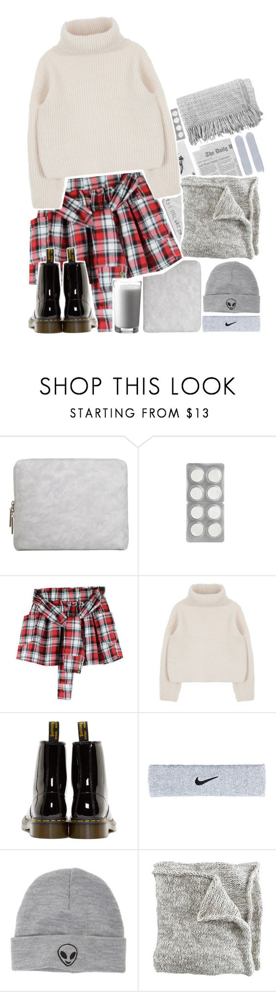 """""""🍫"""" by biteesizedd ❤ liked on Polyvore featuring 3.1 Phillip Lim, Dr. Martens, NIKE, With Love From CA and canvas"""