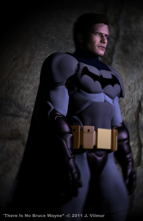 There is no Bruce Wayne by NVent3d.deviantart.com on @DeviantArt