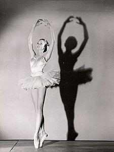 """Brigitte Bardot  as a Young Ballerina -1949 - BB Danseuse - All Things Bardot #celebrity #photography"""