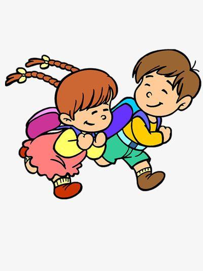 Children Run Education Clipart Kindergarten Kids Kindergarten