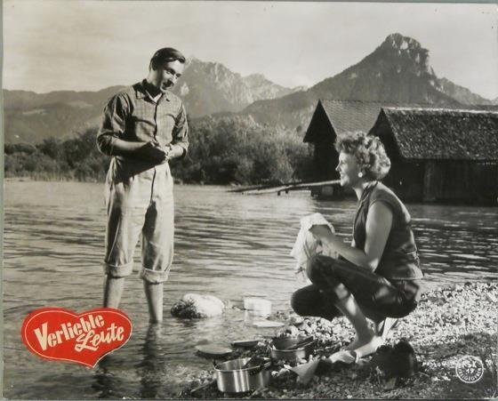 Peter Alexander in einer seiner ersten Filme