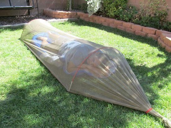 an Easy MosquitoNet Tent Posted on 10/22/2013 : By Brent Garcia