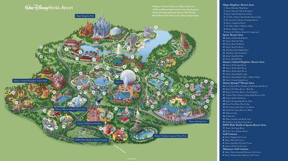 Walt Disney World Brochures And Disney On Pinterest