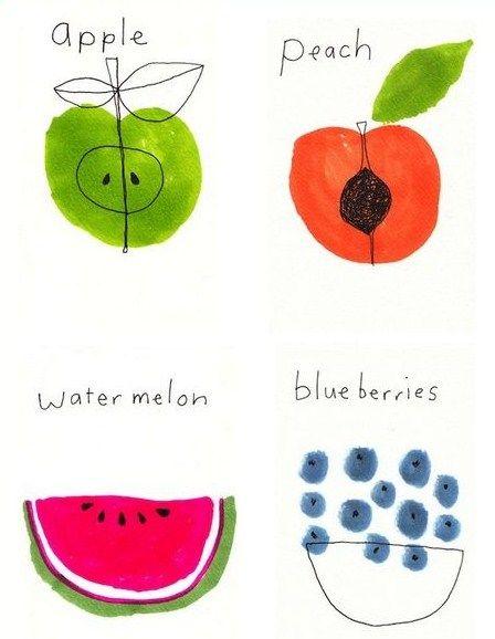 #fruit illustration:
