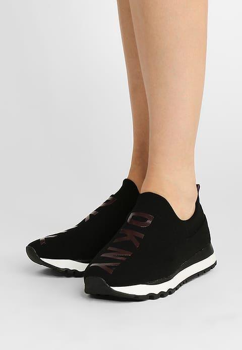 DKNY JADYN - Trainers - black/burgundy