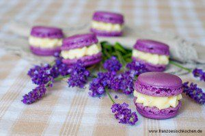 Danke für alles... die Gewinner und ein Lavendel-Macarons Rezept allgemein backen kekse-platzchen macarons Französisch Kochen by Aurélie Bastian