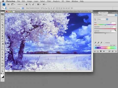 ▶ Photoshop Workbench 172: Improving the Appearance of Color Infrared - YouTube