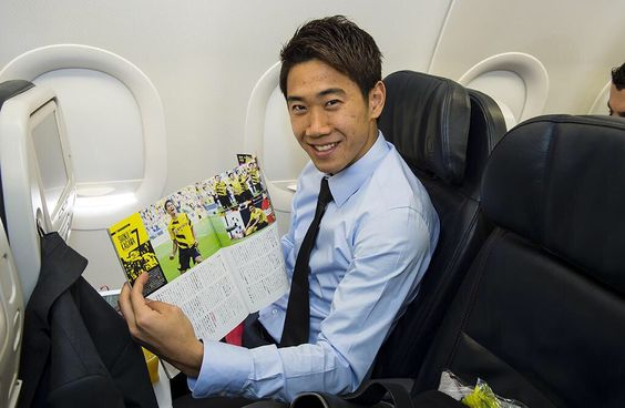 飛行機香川真司さん