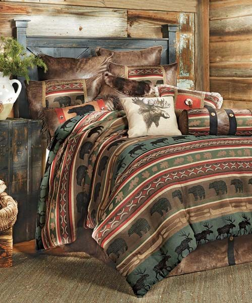 Best Bedding Wildlife Decor And Moose Decor On Pinterest 640 x 480