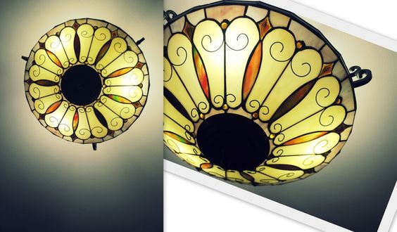 Intricate Light Fixture