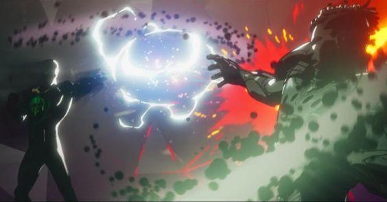 Armin Zola Fighting Killmonger In What... If? Finale