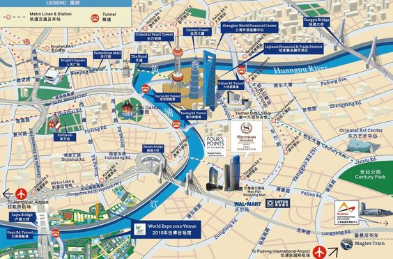 ShangHai Tour Map