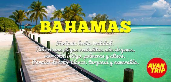 ¡Bienvenidos a #Bahamas! Paraíso Caribeño..  ¿Sabías que es un archipiélago compuesto por 700 islas? Cada una con su propia diversidad geográfica y natural… ¡Todo un misterio por descubrir!
