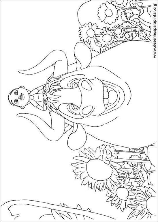 Desenhos Do Touro Ferdinando Para Colorir E Imprimir Gratis