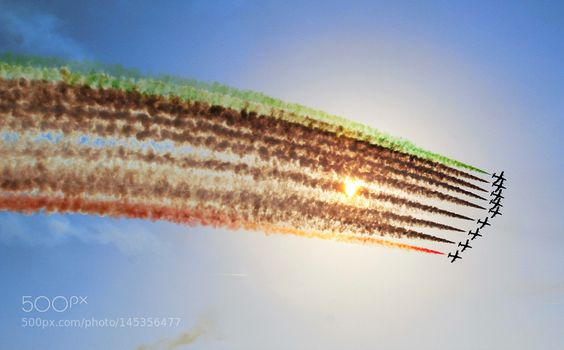 freccie Tricolori by PlinioNeri
